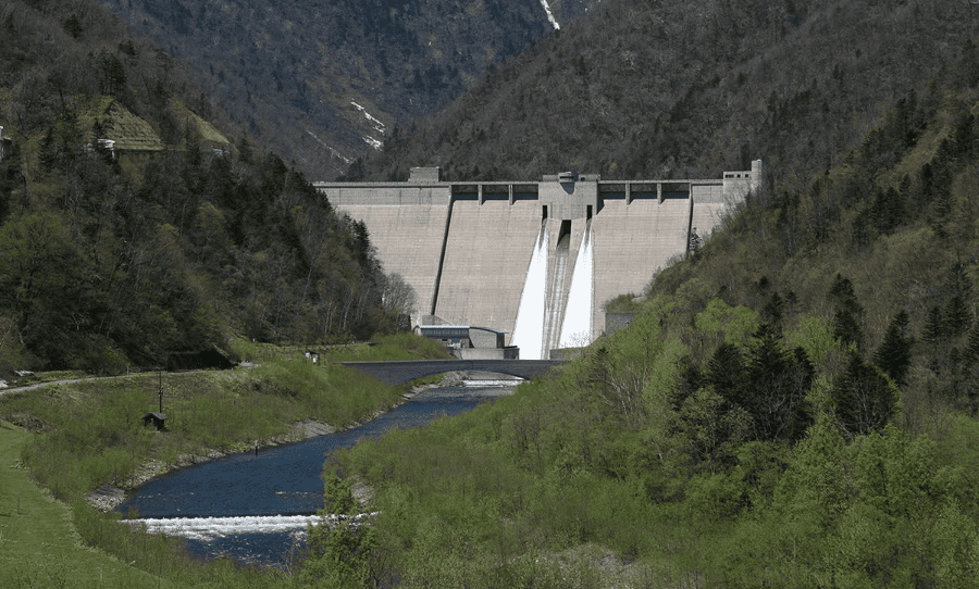 Satsunai River Dam