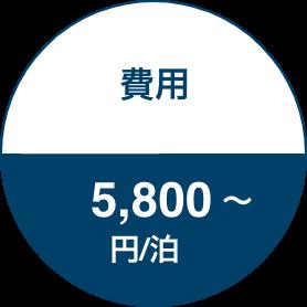 費用 10,000円/泊